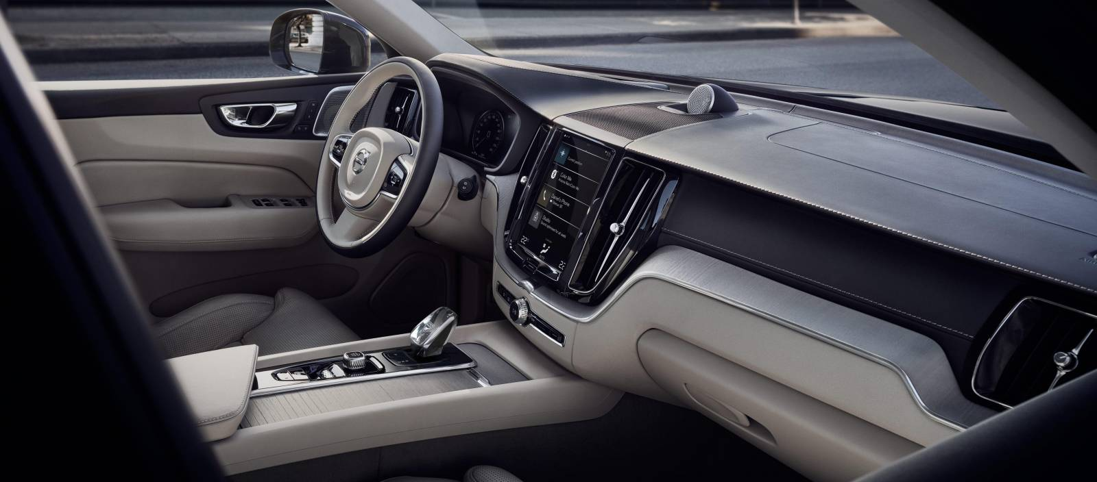 Volvo XC60 interiér